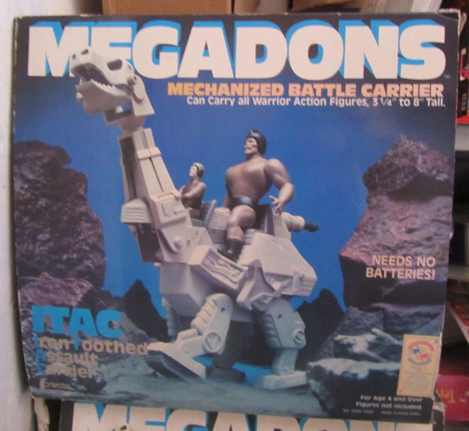 Megadons ITAC maskiniserad stridsbärare MOTU storlek SPESE GRATIS