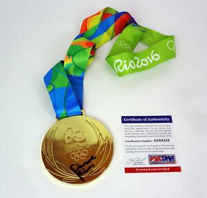 Simone-Biles-2016-Rio-Olympics-Signed-Autograph-Replica-Gold-Medal-PSA-DNA-COA