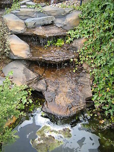 Pre Formed Waterfall Water Feature 39 The Victoria Falls 39 Garden Stream Cascade