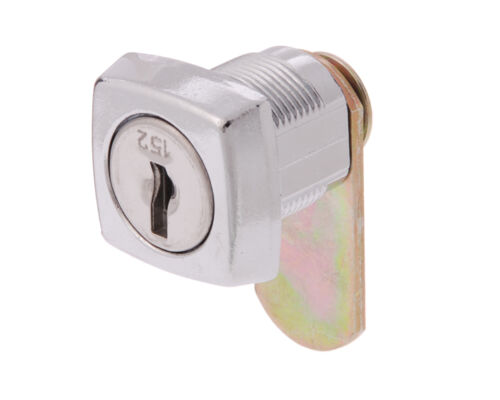 Mailbox Drawer Cupboard Cabinet Toolbox LOCK FOCUS 16mm CAM LOCK SQUARE FACE