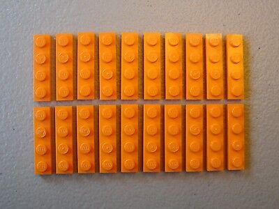 LEGO NEW Reddish Brown Plate 1x2 Lot x20 Star Wars Ninjago Friends Creator 3023