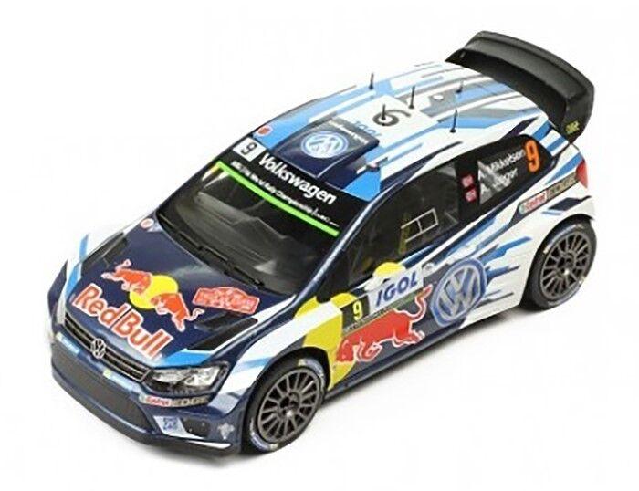1:43 IXO Direkt MODELLAUTO 1401 Volkswagen Polo R WRC Rally Finland 2013 Ogier