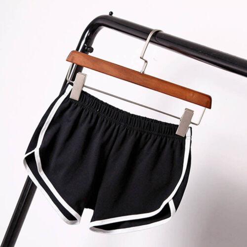 Women Sports Shorts Elastic Waist Gym Fitness Training Exercise Gym Hot Pants