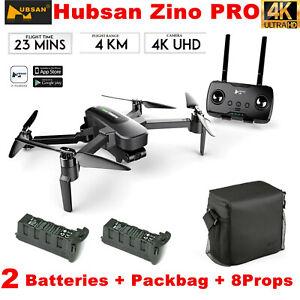 Hubsan Zino Pro 4.5KM Wifi FPV RC Drone W/4K Camera...