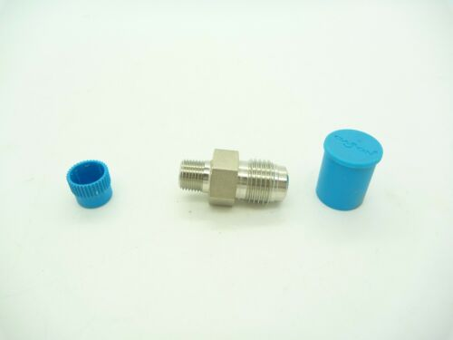 """VCR Face Seal Male Connector 1//4/"""" VCR x 1//8/"""" MNPT Swagelok SS-4-VCR-1-2"""