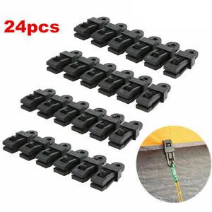 PCS-Tent-Tarp-Tarpaulin-Clip-Clamp-Buckle-Camping-Tool-Heavy-Duty-Reusable-LOT