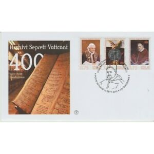 2012-FDC-Filagrano-Vatican-Archives-Lockable-1-Envelope-MF74533