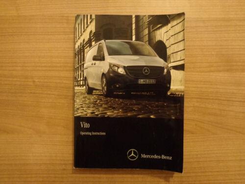 MERCEDES VITO Owners Handbook Manual 14-18