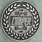 Mini Cooper S hat pin badge Oval logo F0305025 lapel -