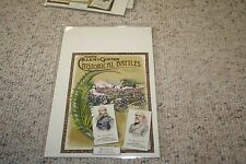 2009 Allen and Ginter Cabinet Boxloaders  George Meade & Robert E. Lee