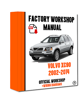 official workshop manual service repair volvo xc90 2002  2014 wiring  diagram  ebay