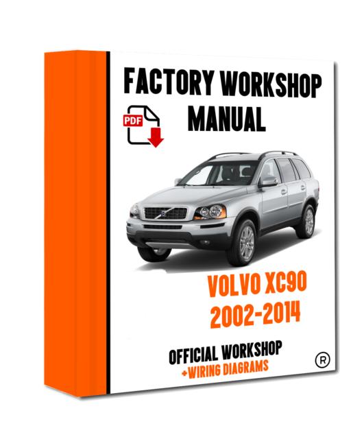 Official Work Manual Service Repair, Volvo Wiring Diagram Xc90