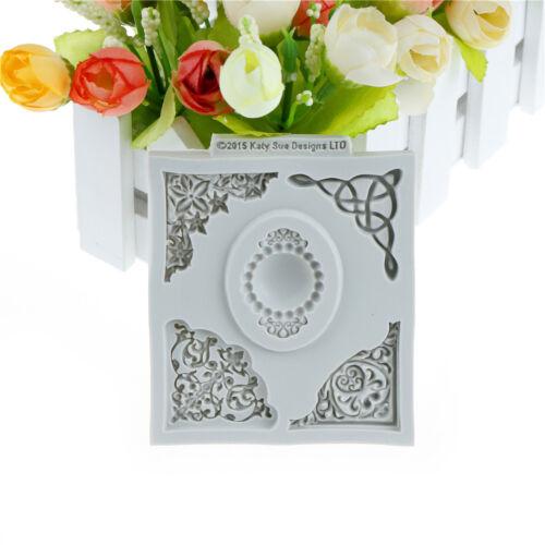3d Spitze Diamant Schmuck Silikon Kuchen Form Design Kuchen Formen für DekorABO