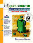 Object-Oriented Software Construction (Book/CD-ROM) by Bertrand Meyer (Mixed media product, 1997)
