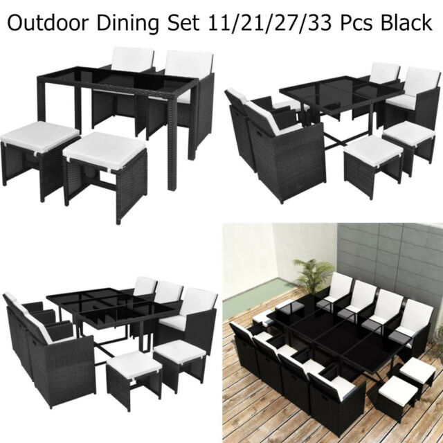 Stupendous Rattan Outdoor Dining Set 11 21 27 33 Pcs Garden Patio Furniture Table Chairs Ibusinesslaw Wood Chair Design Ideas Ibusinesslaworg