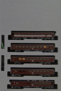 Kato-10-1500-Series-35-4000-039-SL-Yamaguchi-go-039-5-Cars-Set-N-scale