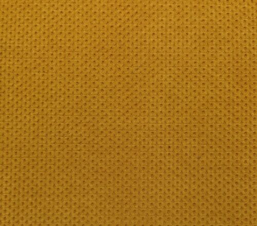 "WAVERLY CHERRIOS BUTTERCUP YELLOW CIRCLE CHENILLE FABRIC BY THE YARD 56/""W"