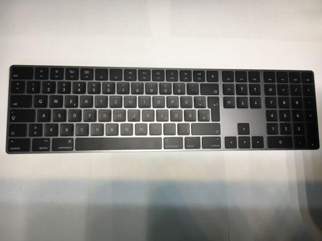 Magic Keyboard mit Ziffernblock Space Grau Deutsch Bluetooth Tastatur