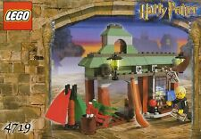 LEGO HARRY POTTER 'QUALITY QUIDDITCH SUPPLIES' #4719 DRACO MALFOY 100% COMPLETE