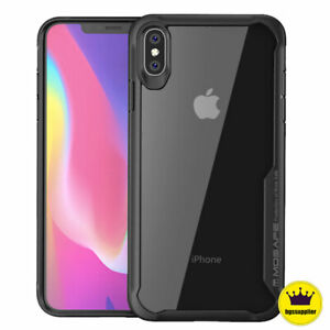 For-iPhone-XR-XS-Max-X-Clear-Back-Shockproof-Case-Cover-Protective-Bumper-Slim