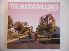 THE MARXMALLOWS / WHO CARES ? - [ CD ALBUM ] --  PORT GRATUIT
