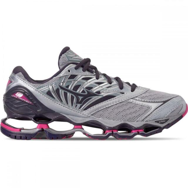 mizuno wave prophecy 2018 womens grey rose