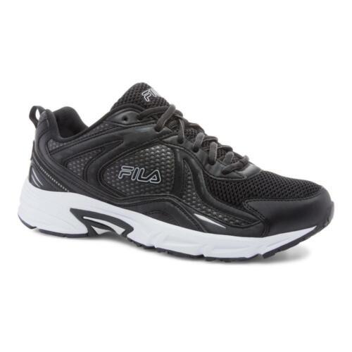 Fila Validation Men/'s Running Shoes Black//Metallic Silver//White 1SR21107-010