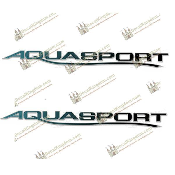 AQUASPORT 205 OSPREY BOAT DECALS (SET OF 2) Choose Outline Couleur