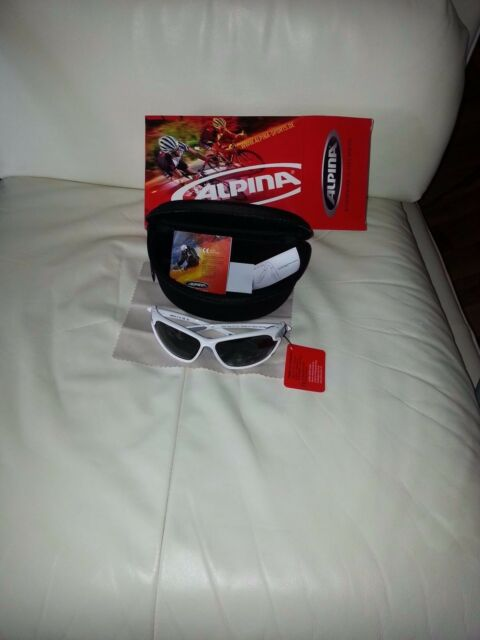 weiss grau matt Alpina Praffix 2.0 Sportbrille Sonnenbrille