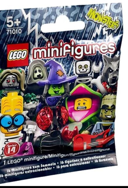 2015 LEGO 71010 MONSTERS MINIFIGURES SERIES 14
