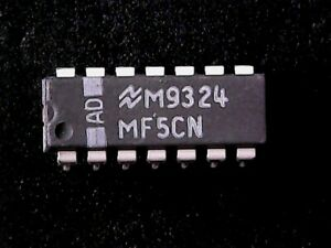 MF5CN-National-Semiconductor-Monolithic-Switched-Capacitor-Filter-DIP-14