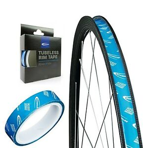 Schwalbe High Pressure Tubeless Rim Tapes 19 21 23 25 27mm Bicycle