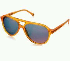 $148 Jack Spade - Orange Thompson Aviator Sunglasses - New with Case