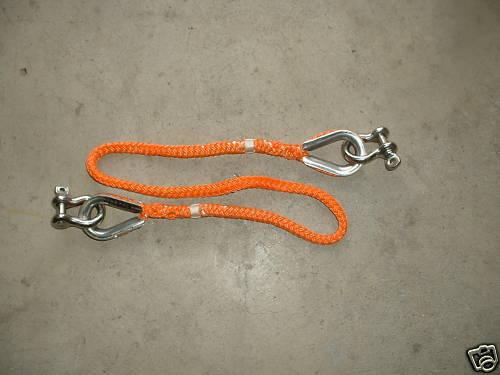 Fiber Rope Assembly Single Leg