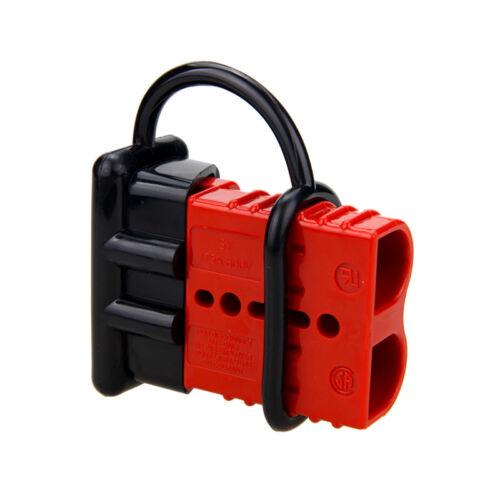 2X 175A Batterie Stecker Steckverbindung Schnellverbinder Kabel Schutzkappe Kits
