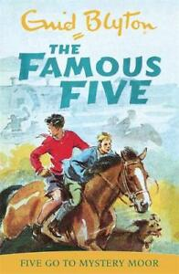 Five-Go-to-Mystery-Moor-Famous-Five-Enid-Blyton-New
