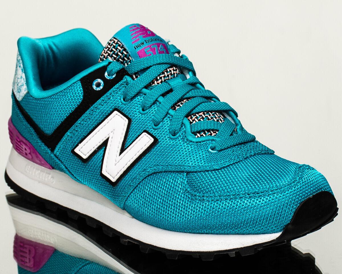 New Balance WMNS 574 NB donna lifestyle lifestyle lifestyle casual scarpe da ginnastica turquoise WL574-ASC f5b8c6