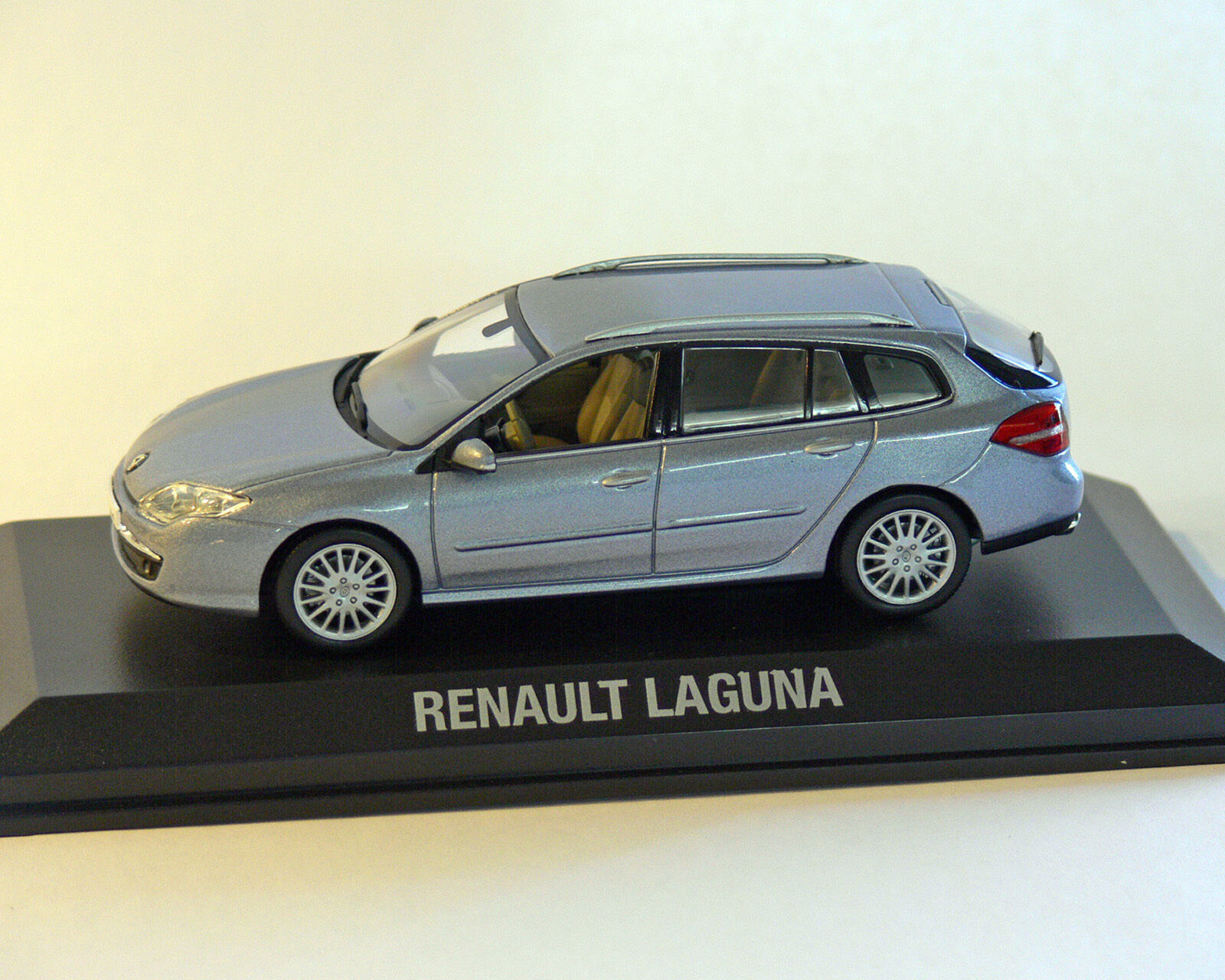 Renault Laguna Estate 2007, Light bluee, Norev 1 43