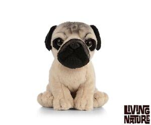 Realistic Pug Stuffed Animal, Living Nature Pug Puppy An439 Realistic Animal Fluffy Cuddly Stuffed Plush Dog 5037832308856 Ebay