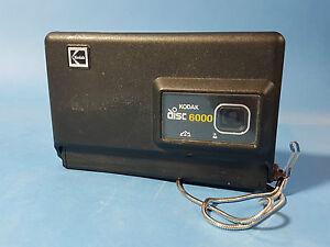 vintage 1980's kodak disc 6000 compact point & shoot retro