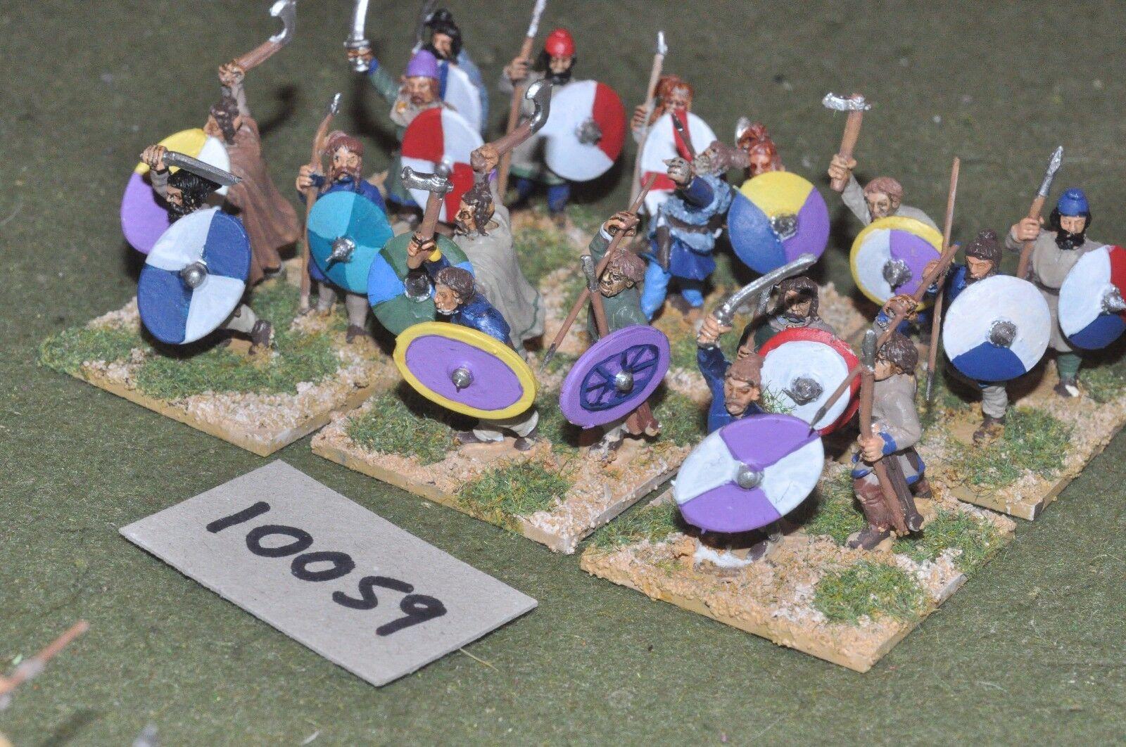 25mm roman era   roman - late 18 auxiliaries figs - inf (10059)