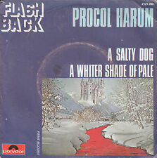 """7"""" 45 TOURS FRANCE PROCOL HARUM """"A Whiter Shade Of Pale / A Salty Dog"""" 1972"""