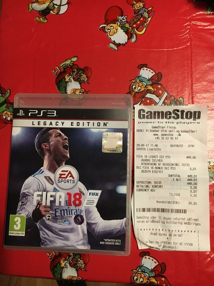 FIFA 18, PS3, sport