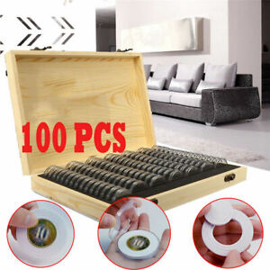 Wooden-Coins-Display-Storage-Box-Case-for-Collectible-Coin-With-100-Capsules