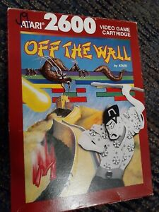 Off-The-Wall-for-Atari-2600-COMPLETE-IN-THE-BOX-FREE-SHIPPING