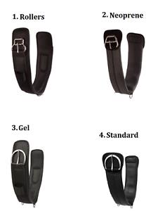 Horse-Western-Cinch-30-22-24-32-34-36-Black-Neoprene-Saddle-Gel-Girth-Non-Slip