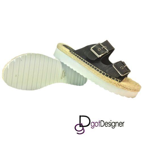 NEW Womens Flip Flops Low Wedge Thong Sandals Slippers Shoes Summer Beach HOT