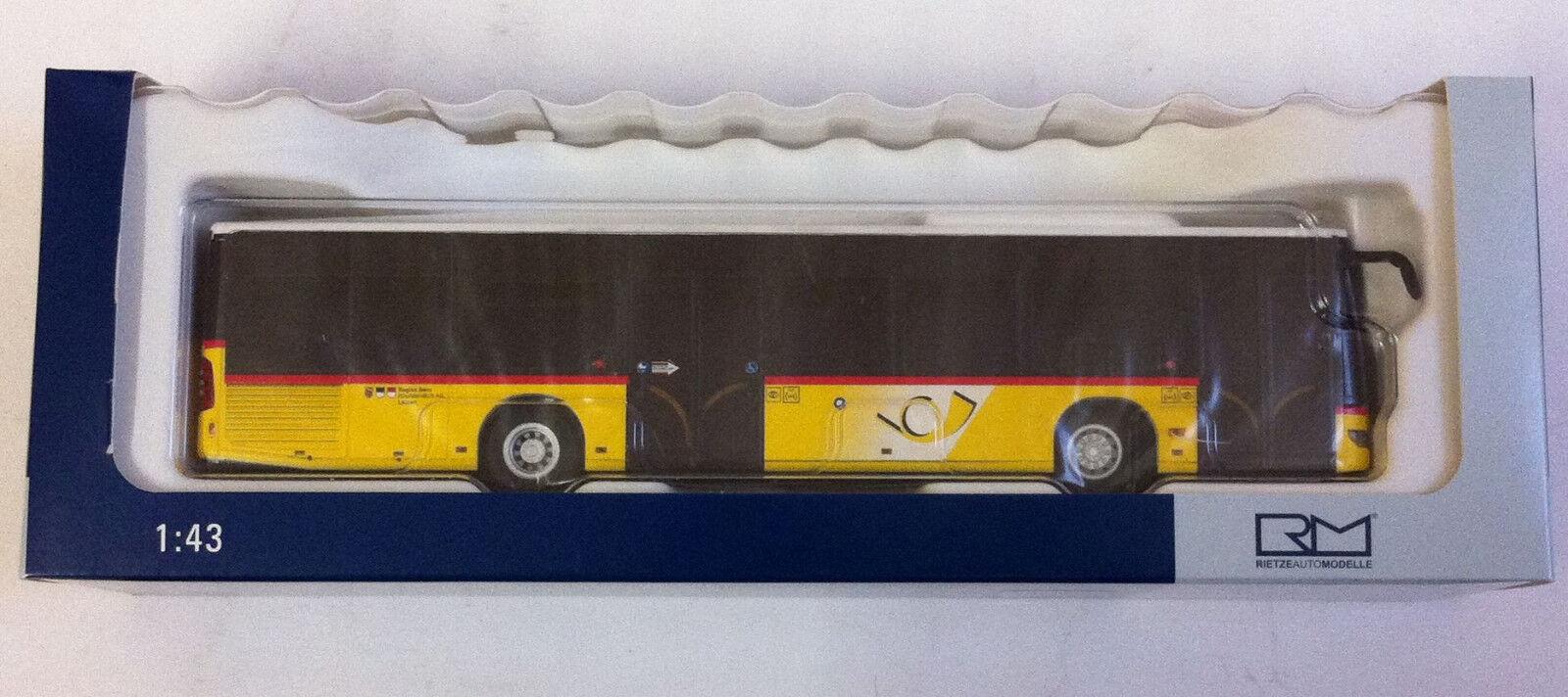 Rietze -0 - 14242 Mercedes-Benz Citaro e4 la poste Toc Pierre Bus AG (CH) 1 43