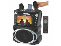 Emerson Portable Dvd /cd+g/ Mp3+g Karaoke System With 7 Lcd