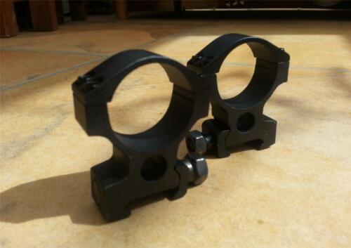 High Profile 30 mm Rifle Scope Anneaux pour rail 20 mm